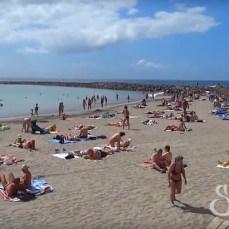 Общий вид пляжа Камисон