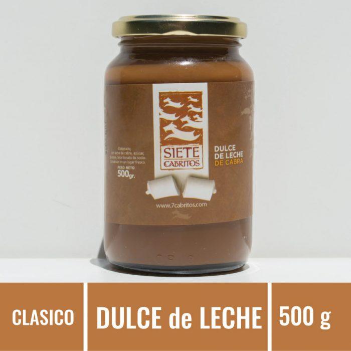Siete Cabritos, Gourmet, Productos Caprinos, Dulce de Leche de Cabra
