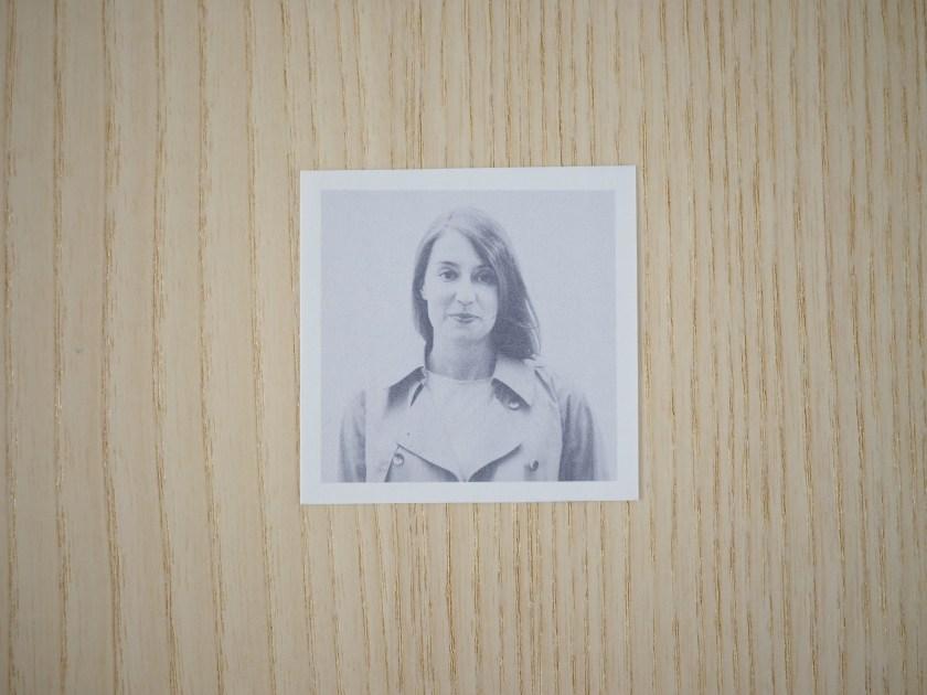 Retrato de un autorretrato de María Platero
