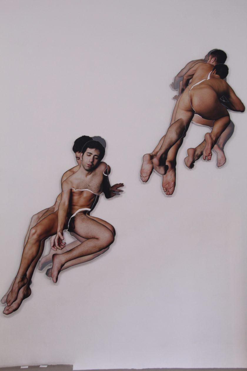 """Dos de los """"Condenados"""" de Germán Gómez en Malone Studio"""