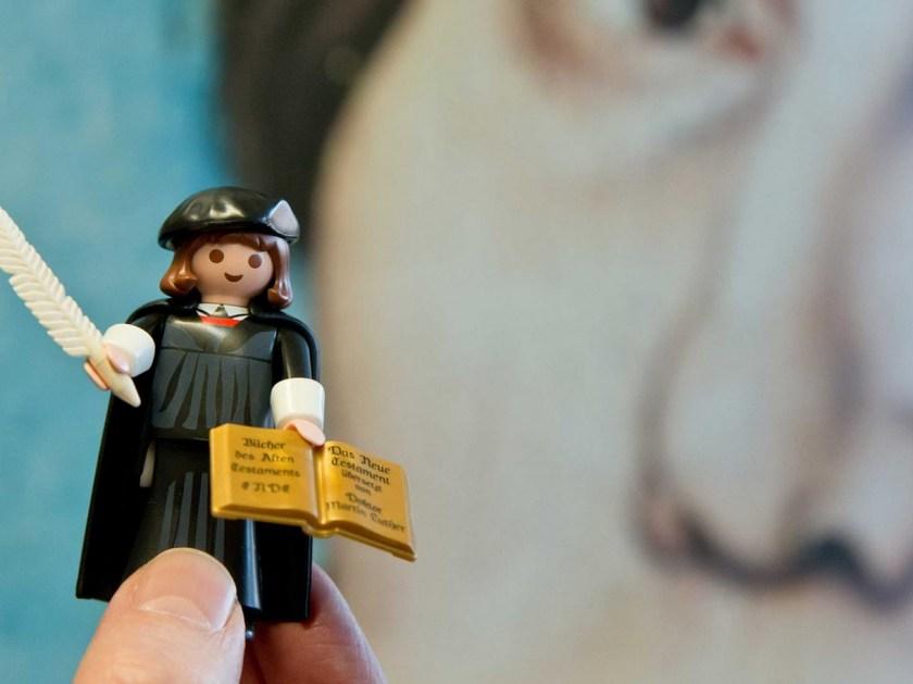 Lutero, por Playmobil, el modelo que la firma vendió más rápido