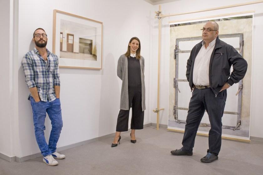 Fernando Bayona, Sara G. Arjona y Juan Cárdenas en la nueva Kir Gallery