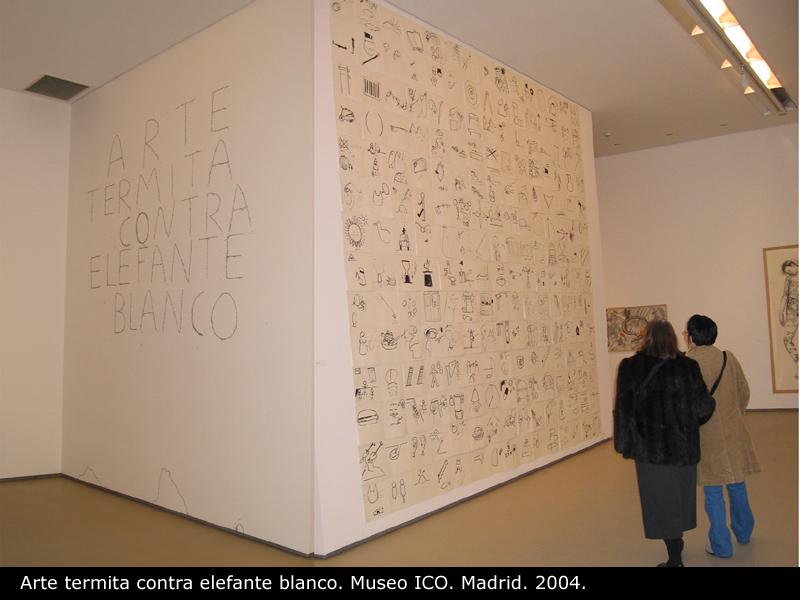 """Participación de Conde en """"Arte termita"""" (Fundación ICO)"""