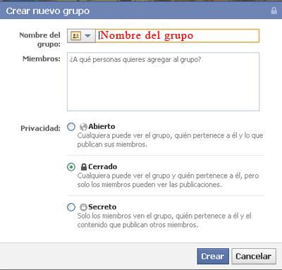 Los Grupos en Facebook (3/6)