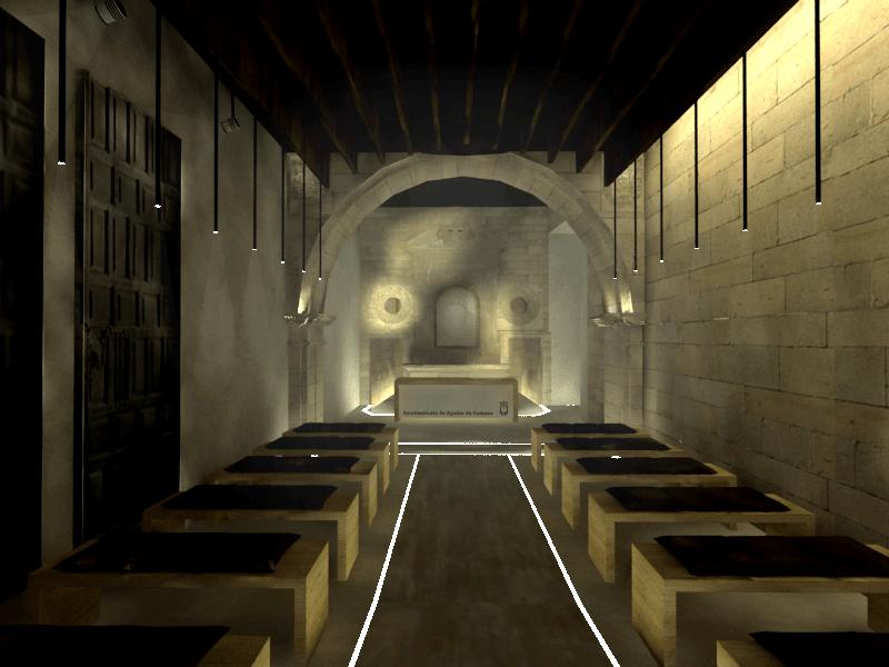 sietequince proyecto rehabilitación ermita nave