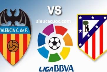 Soi kèo Atletico Madrid vs Valencia lúc 02h45 ngày 05/02 vòng 22 La Liga .