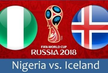 Soi kèo Nigeria vs Iceland 22h00 ngày 22/06
