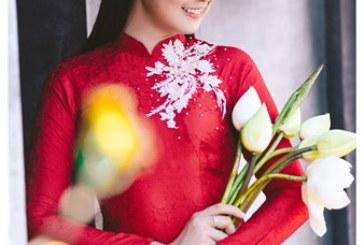 Hoa hậu Ngọc Hân khoe vẻ đẹp nữ tính đốn gục mọi trái tim