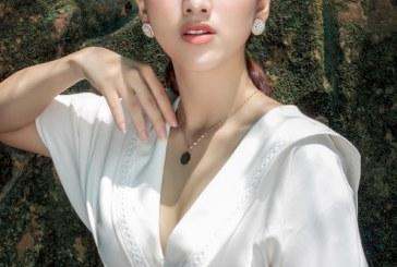 Diễn viên Gia Linh hóa nữ tính dịu dàng khiến fan mê mệt