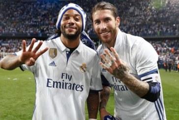 Ramos và Marcelo quyết đánh bại kỷ lục của huyền thoại Manolo Sanchis