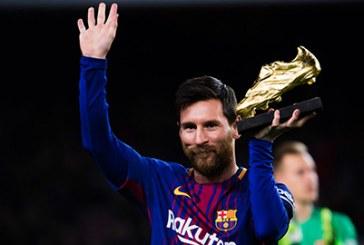 Messi giành lại danh hiệu Vua phá lưới Champions League từ tay Ronaldo