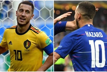 Real co giò tìm số áo cho Hazard