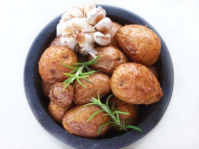 fırınlanmış patates