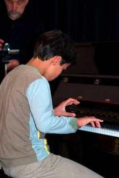 Eleve avancé au piano