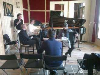 Trio: piano, accordéon, clarinette