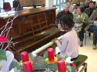 Eleve de piano