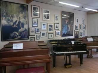 piano à queue, compositeurs