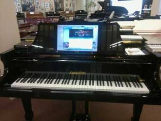Disc piano