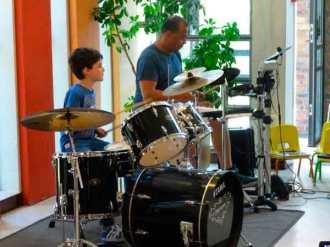 Concert batterie élève professeur