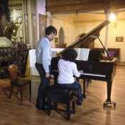 Pache écoute Zachy qui joue Bach