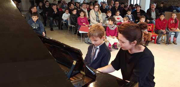 Concert des élèves 2015
