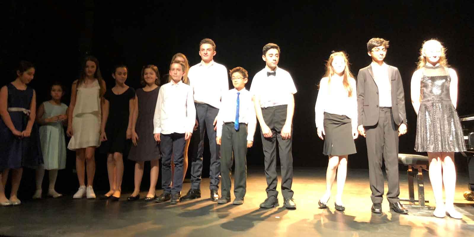 Concert Jeunes talents en ligne