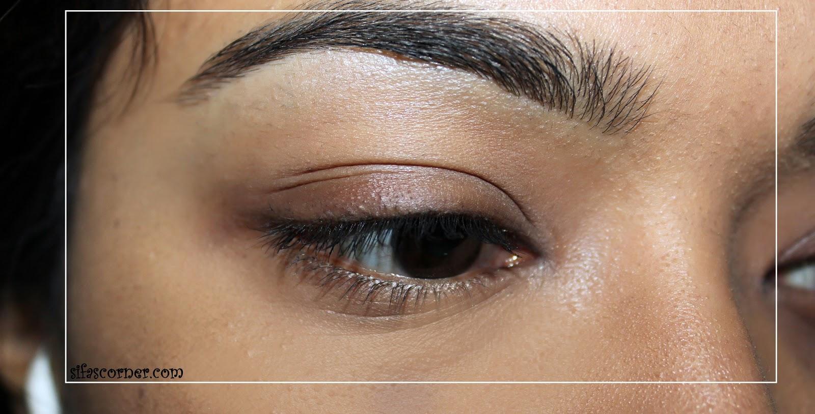 Neutral Smokey eyes for Glasses - Sifa's Corner