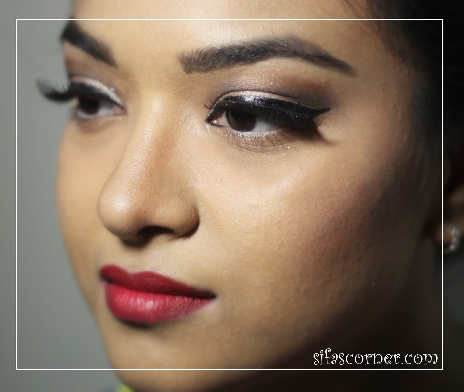 Old hollywood glam makeup sifas corner article about how to do a perfect red lip many readers have asked me about the eye makeup today i am doing step by step tutorial for the eye look baditri Image collections