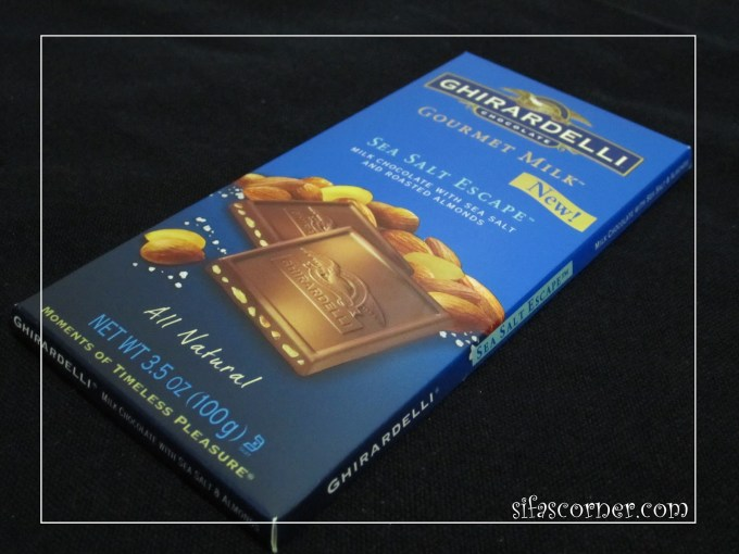 Ghirardelli Gourmet Milk Sea Salt Escape**