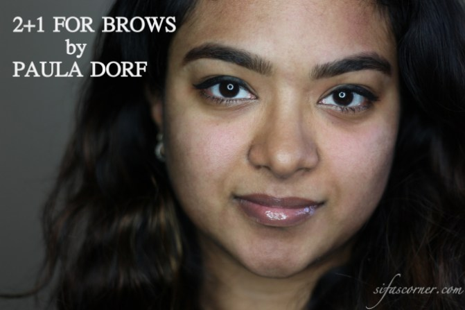 Paula Dorf 2+1 for Brows