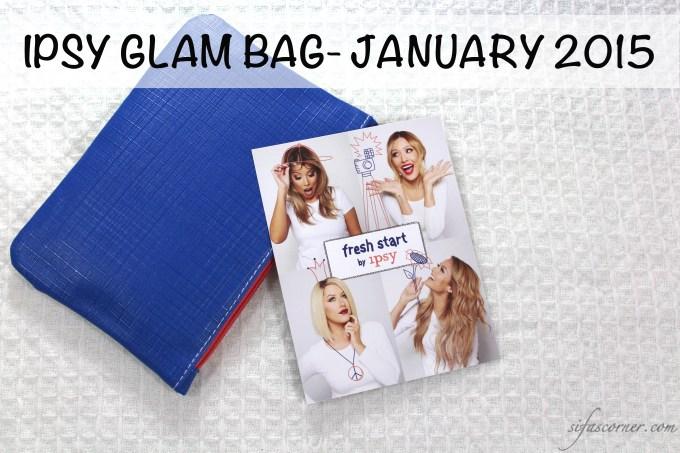 IPSY Glam Bag- January 2015