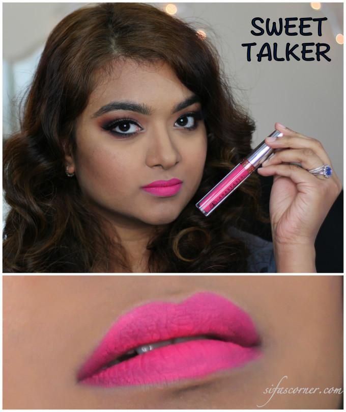 sweet talker swatch Collage
