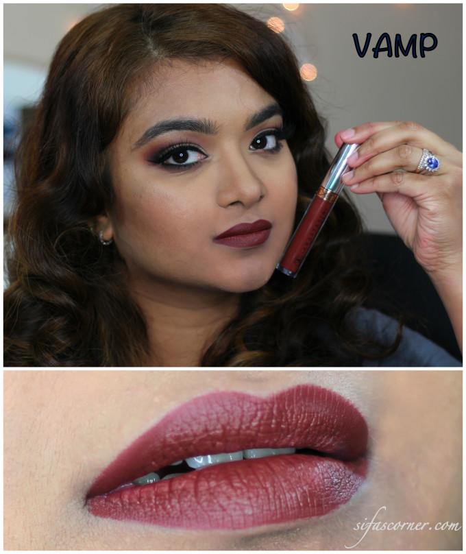 vamp swatch Collage