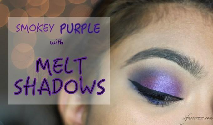 TUTORIAL: Smokey Purple Eyes with MELT Shadows