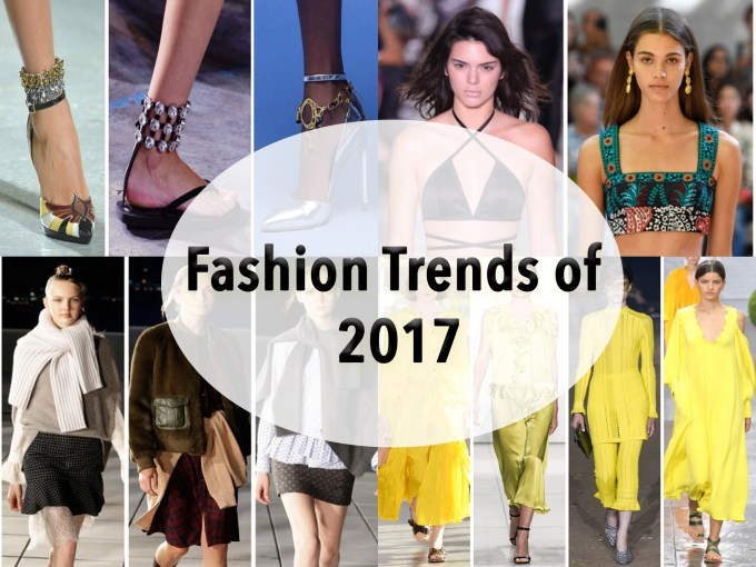 Fashion Trends You Need to Know About in 2017