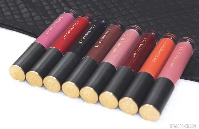EM Cosmetics ILLUSTRATIVE EYELINER & INFINITE LIP CLOUD: Review Swatch