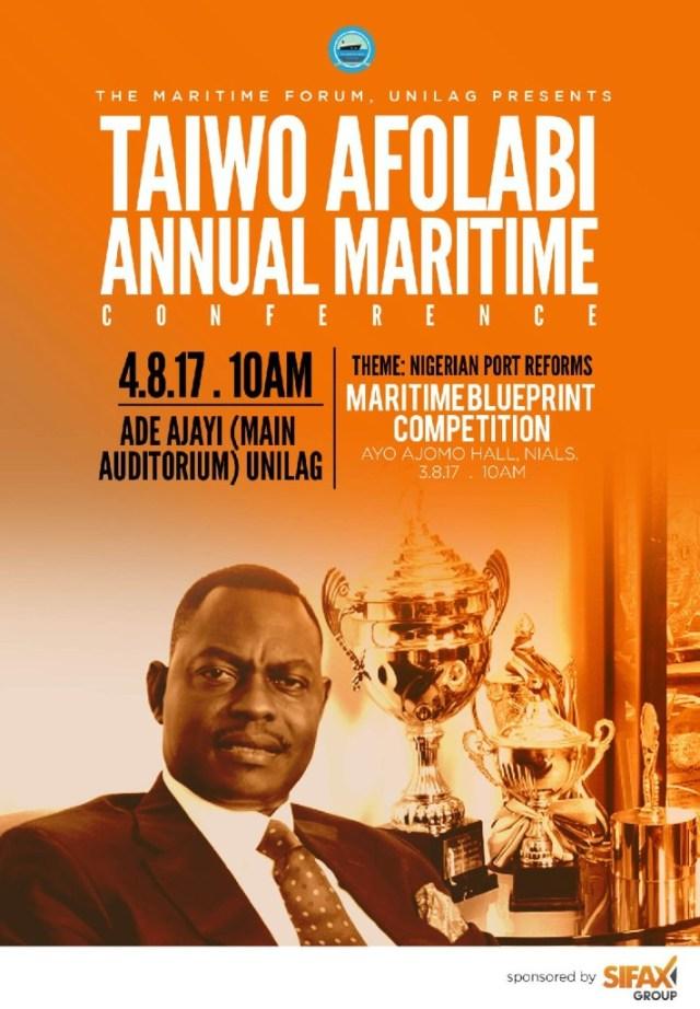 Taiwo Afolabi Annual Maritime Conference
