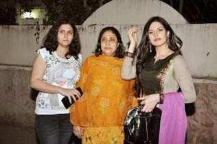 Zareen Khan Family Photo