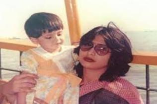 Zareen Khan Childhood Photo