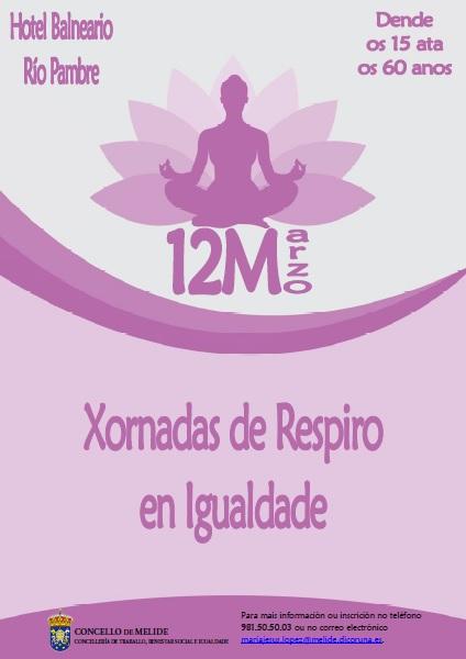 CARTEL XORNADAS DE RESPIRO