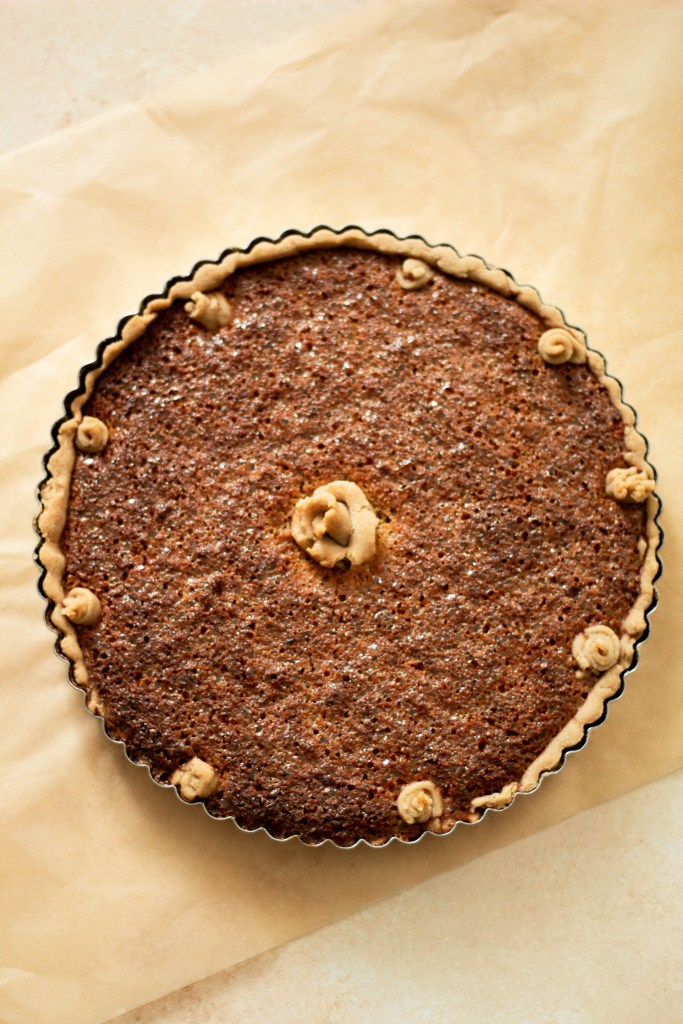 A recipe for treacle tart: treacle tart