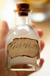 Liquid Luck Potion: Otherwise known as Felix Felicis in a bottle