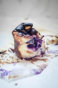 Blueberry Burnt Basque Cheesecake Recipe