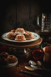 Orange Cakes with Olive Oil