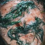 Slow Roasted Salmon with Herb Butter