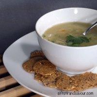 POTATO LEEK SOUP- Vegan, Gluten-Free, Grain-Free & Oil-Free