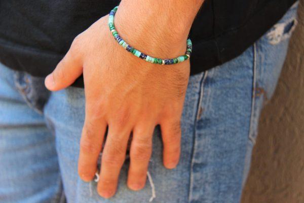 צמיד דיסקיות גוונים ירוק-כחול.jpg