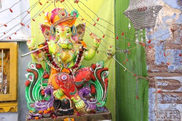 Ganesh, the God of education, wisdom, good fortune, remover of obstacles and wealth