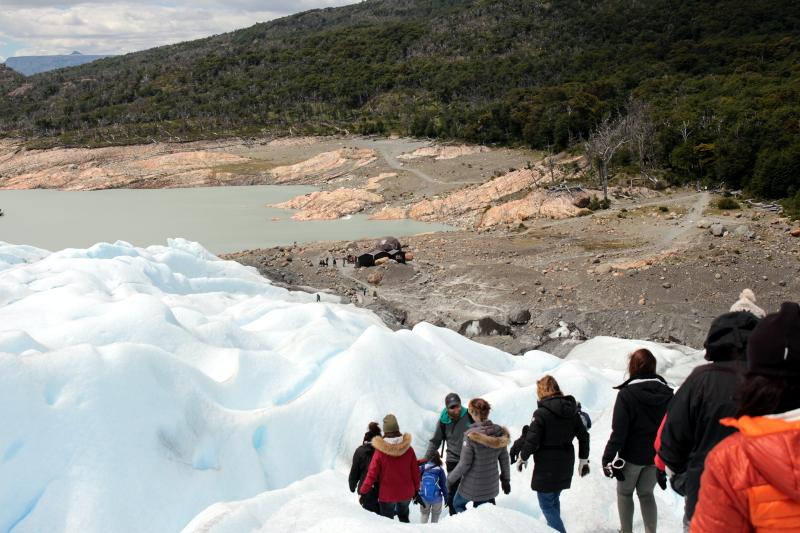 Siga na Viagem - Minitrekking sobre o Glaciar Perito Moreno - Finalização do trekking