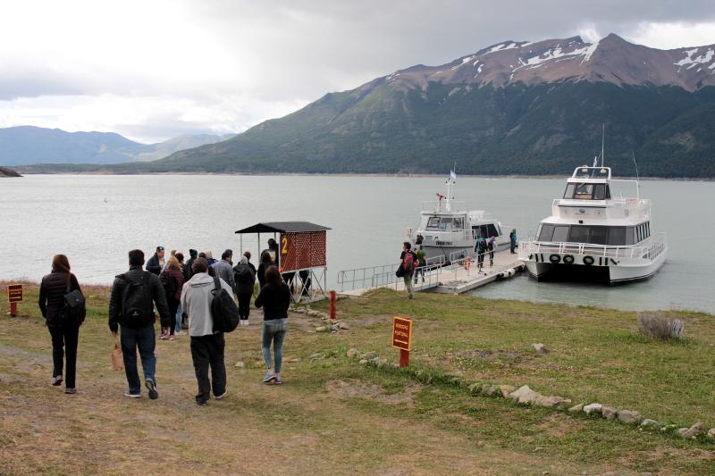 Siga na Viagem - Minitrekking sobre o Glaciar Perito Moreno - Puerto Bajo de las Sombras